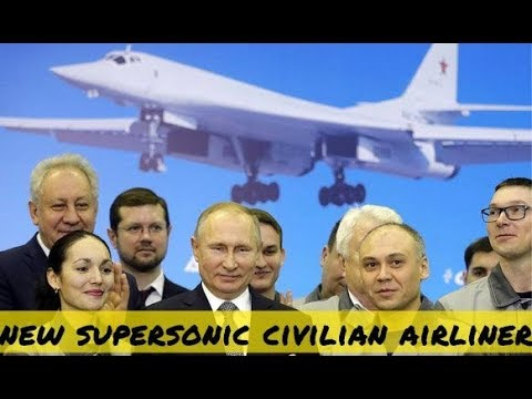 Putin Proposes Supersonic Civilian Aircraft Based On New Tu-160 Blackjack Long-Range Strategic Jet