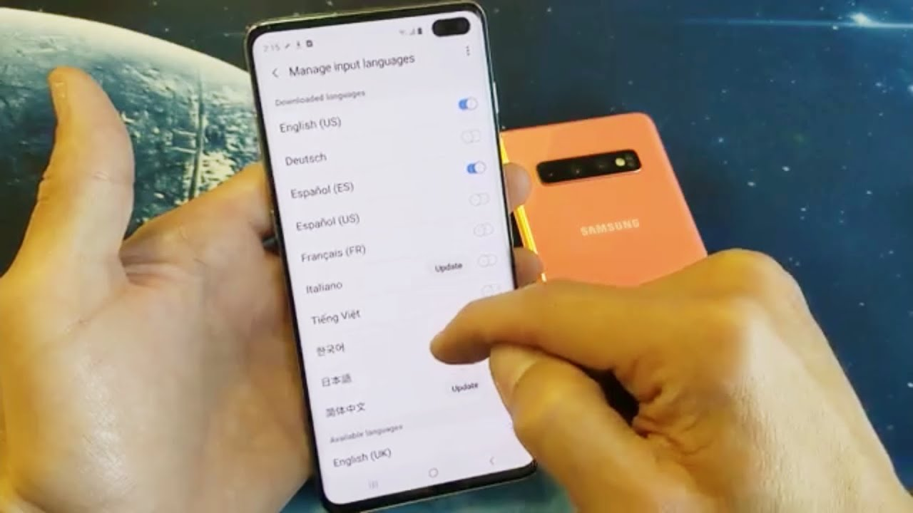 Galaxy S10, S10+, S10E: How to Switch / Add More Languages to Keyboard