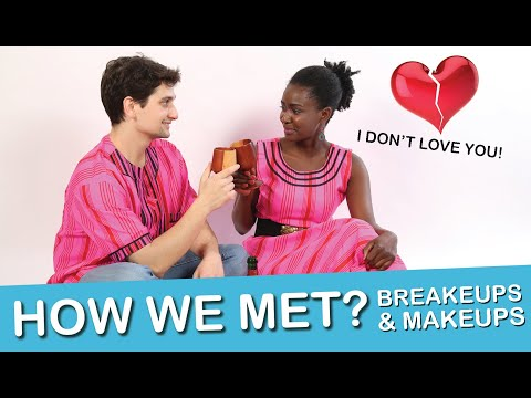HOW WE MET - I Don't Love You!  OUR CRAZY (Namibian-Italian) LOVE STORY ~lempies