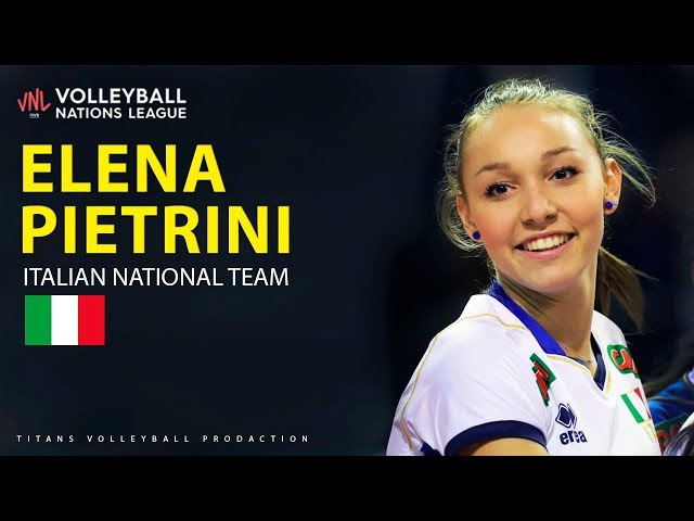 Best Volleyball Actions by Elena Pietrini | Women's VNL 2019