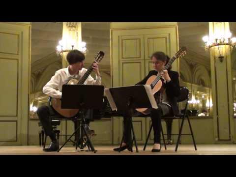Mouvements 1 et 2 du Grand duo de Napoléon Coste