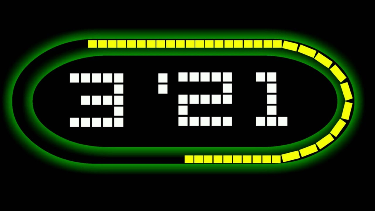 5 minute graphical countdown timer with 16 bit snes music