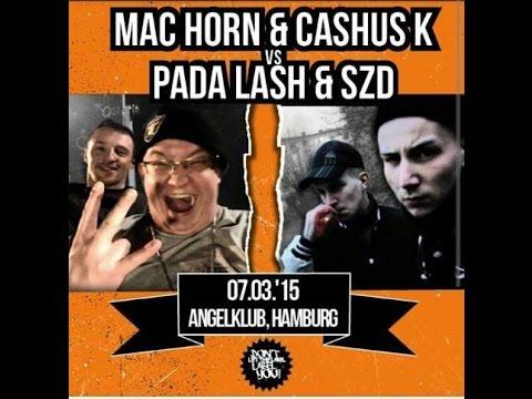 DLTLLY // Rap Battle // Mac Horn & Cashus K. vs PadaLash & SZD
