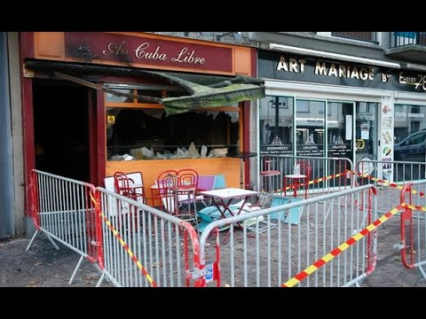 13 Dead after a Fire in Bar in Rouen France