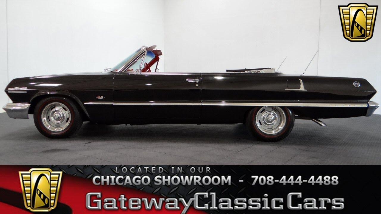 1963 Chevrolet Impala SS Convertible Gateway Clic Cars Chicago ...