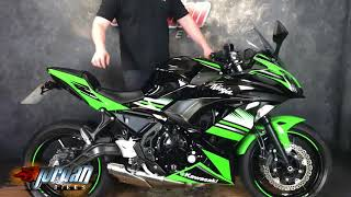 Jordanbikes- for sale Kawasaki ninja 650 2017/17 2157 miles £5390