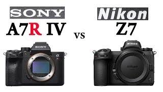 Sony a7R IV vs Nikon Z7