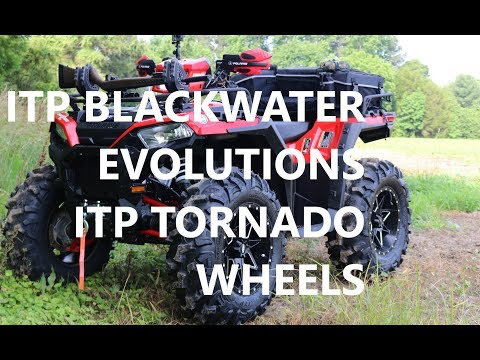 ITP Blackwater Evolutions Tires and Tornado Wheels Walk Around