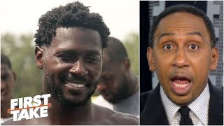 Antonio Brown means 'the Tampa Bay Buccaneers are going to the Super Bowl' - Stephen A. | First Take