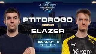 Elazer vs PtitDrogo ZvP - Round of 16 - WCS Fall 2019 - StarCraft II