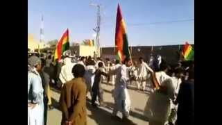 sardar akhtar jan mengal coming to nushki 11-04-2014