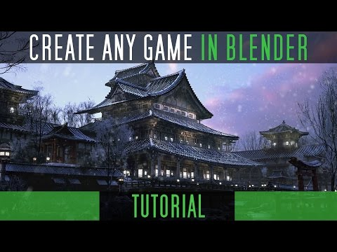 How Games are made in Blender