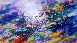 Акварель по мокрому-это космос, а не краски!