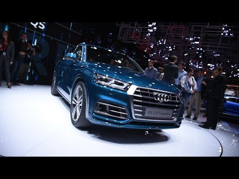2017 Audi Q5 First Look - 2016 Paris Motor Show