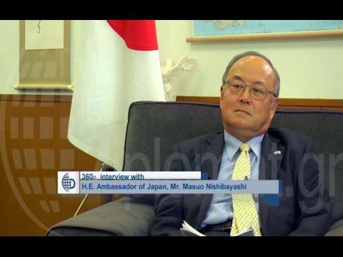 The Japanese Ambassador Masuo Nishibayashi In a 360 interview - theDiplomat.gr
