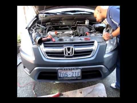 Honda CRV Knock Sensor Replacement works for accord and civic - YouTube