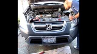 Honda CRV Knock Sensor Replacement works for accord and civic