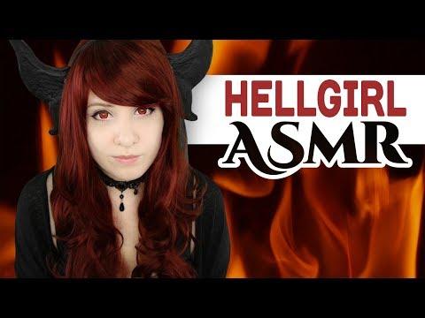 Cosplay ASMR - Demon Girl visits you on Earth! (+ Ambiente Sounds) - ASMR Neko