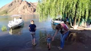 Рыбалка на Или. Подводное видео. Покатушки на катере.