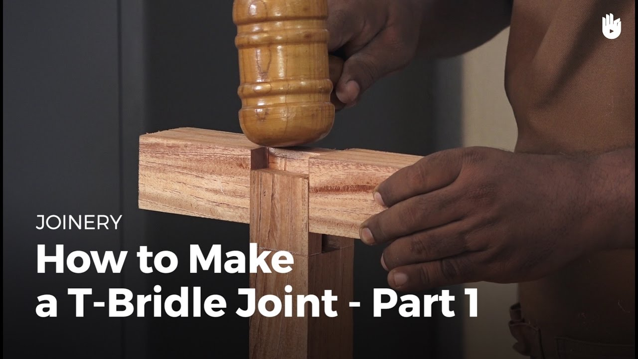 Bridle Joint Woodworking