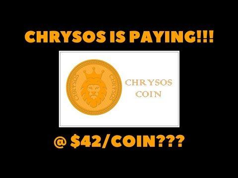 CHRYSOS COMMUNICATION FINALLY!!!