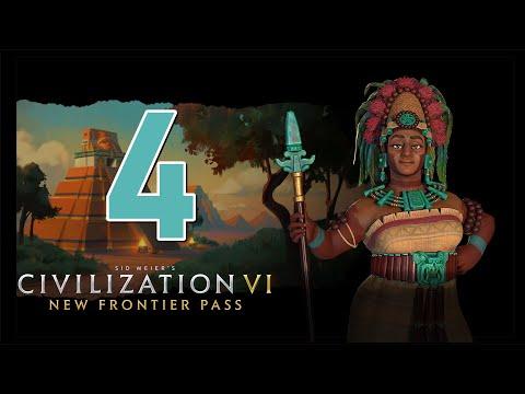 Прохождение Civilization 6: New Frontier #4 - Столица в огне [Майя - Божество]