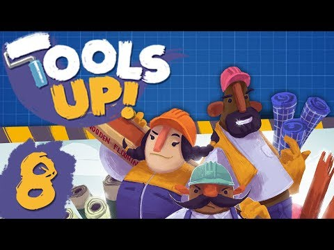 Tools Up - #8 - FINAL LEVEL! (4 Player Gameplay)
