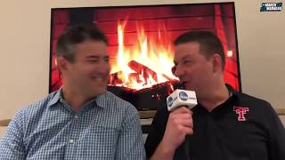 Texas Tech's Chris Beard hosts special edition of the 'Fireside Chat'