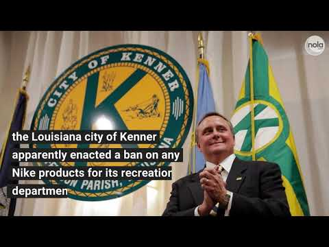 ACLU challenges Nike ban by Kenner Mayor Ben Zahn