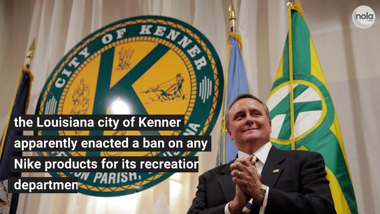 Louisiana city of Kenner bans Nike purchases