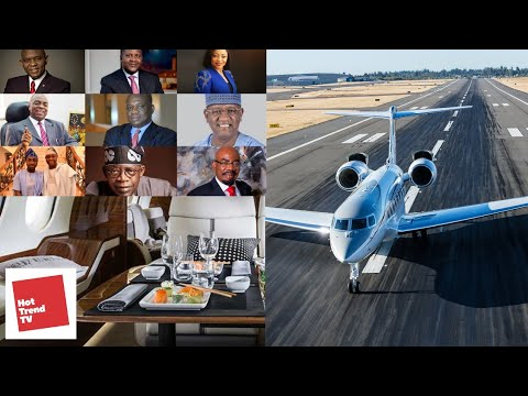 Top 10 Most Expensive Private Jets Spotted in Nigeria