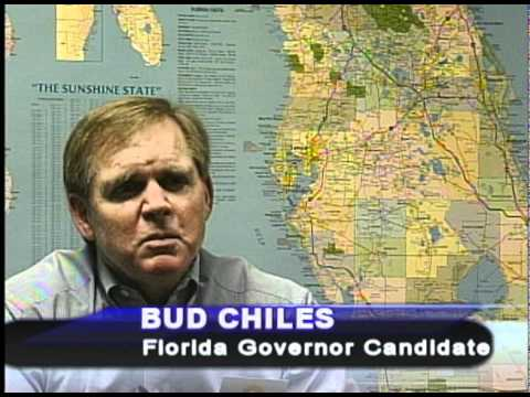 Lawton Chiles, Jr., Independent Candidate for Florida Governor speaks