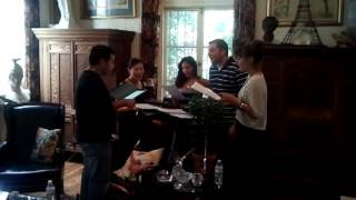 K Earth Singers - Jingle rehearsing - Johnny Mann