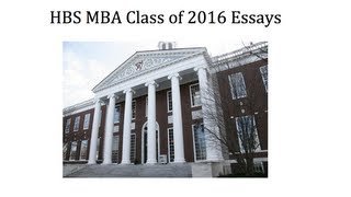 65 hbs essays Amazonin - buy 65 successful harvard business school application essays: with analysis by the staff of the harbus, the harvard business school newspaper book online.