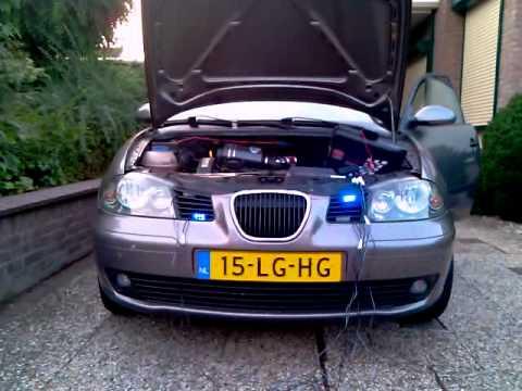 Strobe Lights Seat Ibiza
