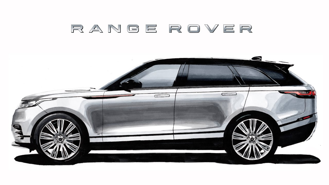 This is a photo of Gratifying Range Rover Drawing