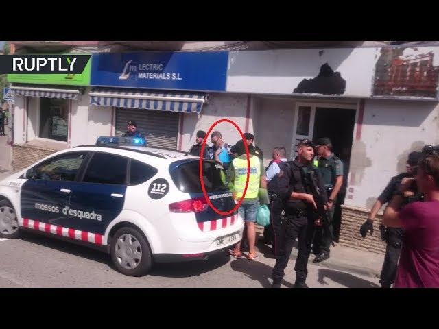 RAW: Suspect in Barcelona car attack arrested in Ripoll