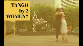 Leading TANGO in high heels, is it possible? Ju Maggioli & Misa Noda