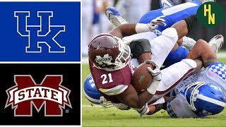 NCAAF Week 4 Kentucky vs Mississippi State College Football Full Game Highlights