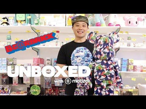 We go BIG and unbox 1000% Bearbrick by Mika Ninagawa x Medicom Toy! Unboxed EP31 by Mindzai