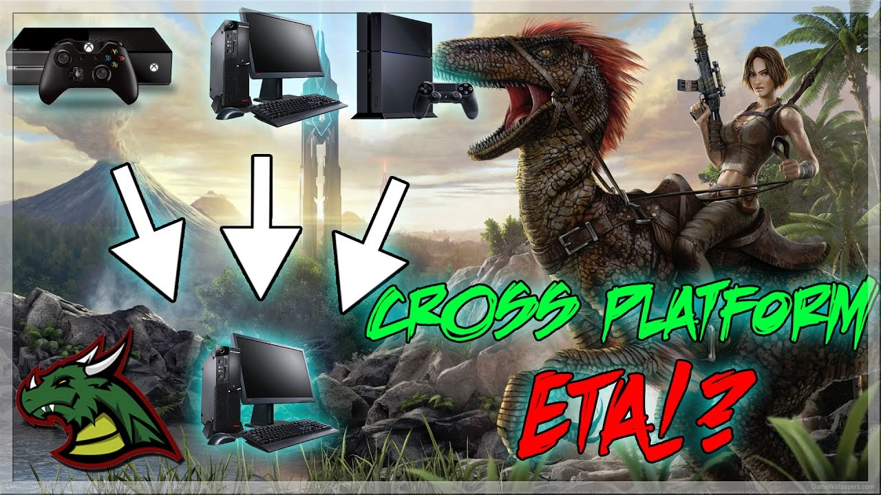 EVERYTHING YOU NEED TO KNOW ABOUT CROSS PLAY ARKS!! XBOX PS4 & PC!! CONSOLE  MOD SUPPORT!!