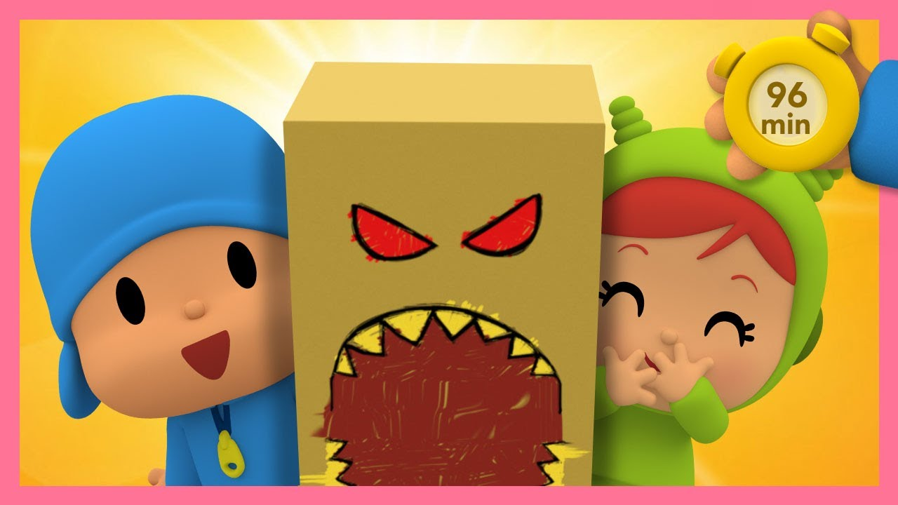 👹POCOYO AND NINA -Most Viewed: Second Season [96 min] ANIMATED CARTOON for Children |FULL episodes