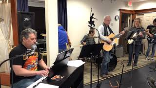 Blues Workshop Performing Love Me Two Times Main Street Music and Art Studio