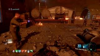 17 Minute - Mayhem In Destroyed Area 51 - Moon On Xbox One || Zombies Chronicles