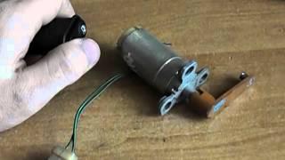 видео Регулировка привода воздушной заслонки карбюратора
