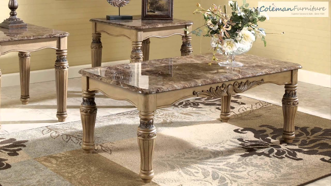 South Coast Occasional Table Collection from Signature Design by