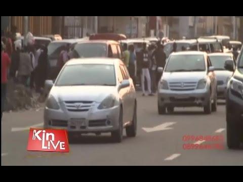 KINSHASA: LES TAXIS DEVIENNENT DANGEREUX CAR LES CRIMINELS LES UTILISENT POUR LEURS OPÉRATIONS
