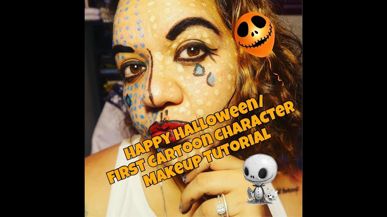Pop artcomic cartoon character makeup tutorial youtube pop artcomic cartoon character makeup tutorial baditri Choice Image