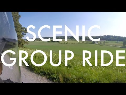 Motorcycle Group Ride | Scenic Twisties around Finnish Countryside