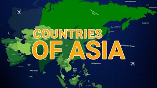 Countries of Asia. Some Facts about Asia. Geohistory